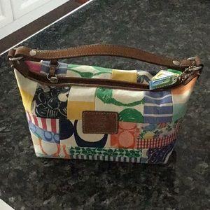 Authentic Coach colorful bag